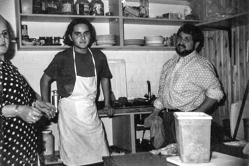 Erhan en zijn vader